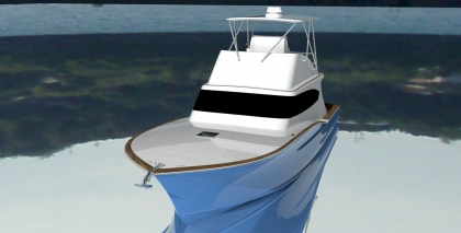 "45' Offshore Convertible ""Blue"""